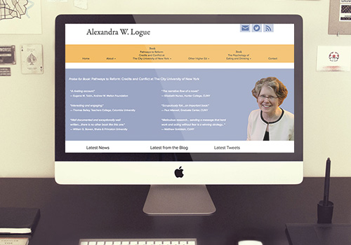 Alexandra Logue Responsive Wordpress Website