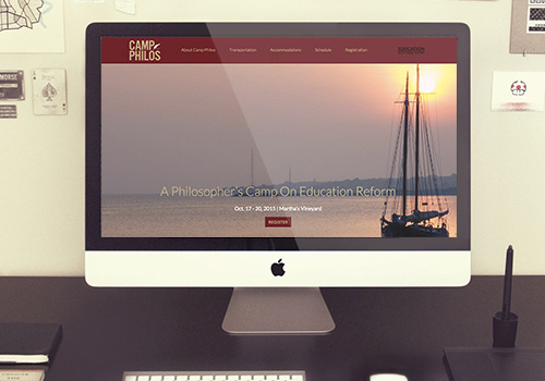 Camp Philos Responsive Wordpress Website