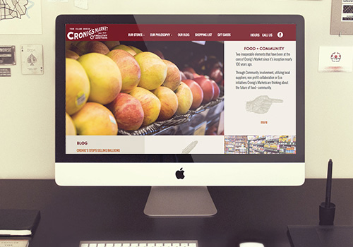Cronigs Market Responsive Wordpress Website