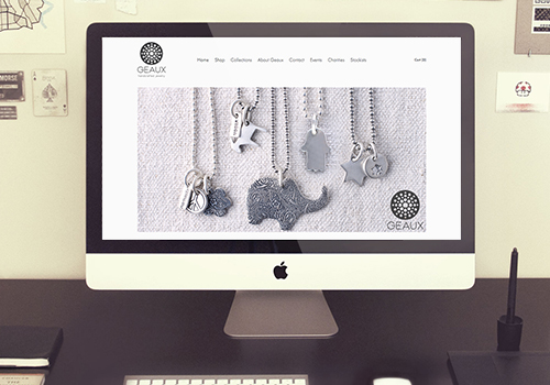 Geaux Jewelry Ecommerce Website