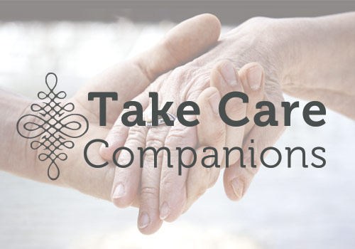 Take Care Companions Logo and Website
