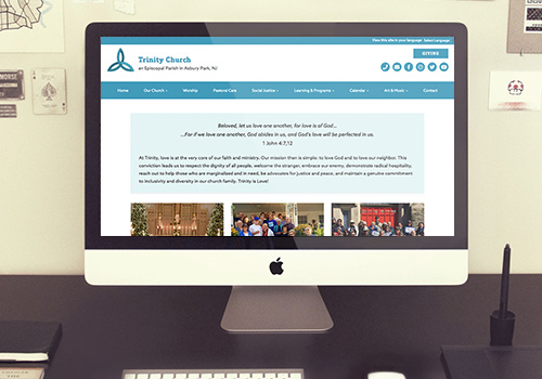 Trinity Church Responsive Wordpress Website