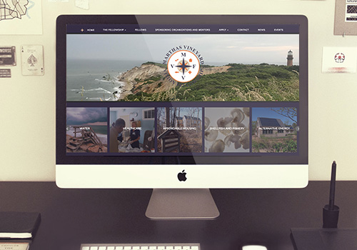 Martha's Vineyard Vision Fellowship Responsive Wordpress Website